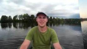 Рыбалка с лодки на реке Цна (Рязанская область)