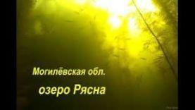 Могилёвская область, рыбалка на озере Рясна.