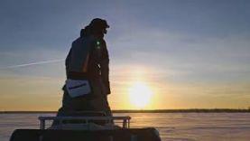 Зимняя рыбалка на реках и озёрах Пермского края, ловля окуня и налима.
