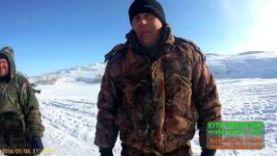 Подледная ловля карася зимой, февраль 2018 года