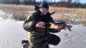 Зимняя рыбалка -ловля щуки на жерлицы