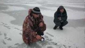 Зимняя рыбалка в Тамбове