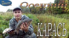 Карась в сентябре, осенняя рыбалка на карася