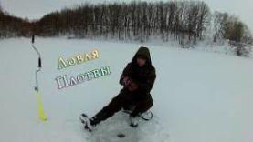 Ловля плотвы зимой на безмотылку. В окружении красивой природы