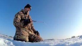 Ловля плотвы и окуня на безмотылку. Зимняя рыбалка 2018.