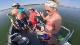 Рыбалка в Астрахани, троллинг, малой рулит