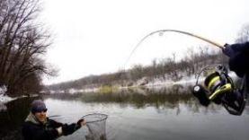 Такой Рыбалки на Спиннинг Ранней Весной я не Ожидал!!! Сплав по Реке Северский Донец