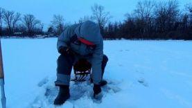 Ловля окуня зимой на балансир-изготовление и рыбалка 2016