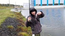 Ловля Окуня на Отводной Поводок, Джиг Осень Белоозерск Беларусь