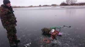 Ловля плотвы по первому льду на мормышку, первый лёд 2017- 2018.