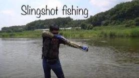 РЫБАЛКА ОКУНЯ: РЫБАЛКА НА ОКУНЯ С РОГАТКОЙSLINGSHOT FISHING