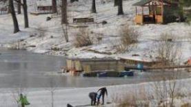 Платная рыбалка Красногорске зимой