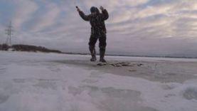 Зимняя рыбалка, ловля окуня на балансир
