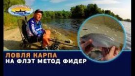 ЛОВЛЯ КАРПА: ЛОВЛЯ КАРПА НА ФЛЭТ МЕТОД ФИДЕР ТОВАРЫ FISHING ROI
