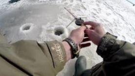 Ловля плотвы на мормышку. Закрытие зимы 2018