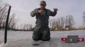 РЫБАЛКА НА ЩУКУ: ЛОВЛЯ ЩУКИ В ХОЛОДНОЕ ВРЕМЯ ГОДА НА ЖЕРЛИЦУ 2018 ГОД   ICE FISHING FOR NORTHERN PIKE SHIOCTON WISCO…