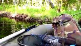 3 дня на рыбалке в Карелии