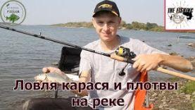Ловля карася и плотвы на реке – рыбалка на Sportex Exclusive Lite Feeder LF 3604